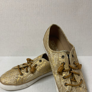 Primary Photo - BRAND: SPERRY STYLE: SHOES FLATS COLOR: GOLD SIZE: 7 OTHER INFO: AS IS SKU: 150-150154-1880