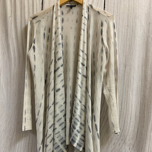 Primary Photo - BRAND: EILEEN FISHER STYLE: SHAWL /LIGHTWEIGHT SWEATER COLOR: TIE DYE SIZE: L OTHER INFO: IVORY/BLUE SKU: 150-150131-14269AS IS