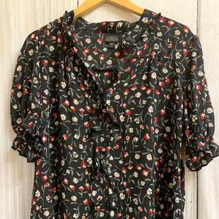 Primary Photo - BRAND: WORTHINGTON STYLE: TOP SHORT SLEEVE COLOR: BLACK RED SIZE: XL OTHER INFO: LIGHT PINK/FLORAL SKU: 150-15098-36591BUTTON DOWN