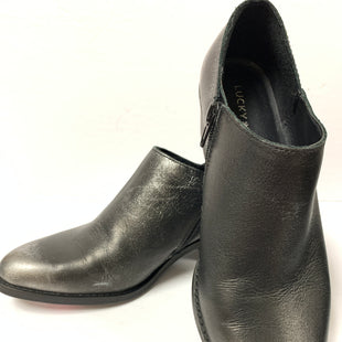 Primary Photo - BRAND: LUCKY BRAND STYLE: BOOTS ANKLE COLOR: CHARCOAL SIZE: 8.5 OTHER INFO: AS IS SKU: 150-15047-133526