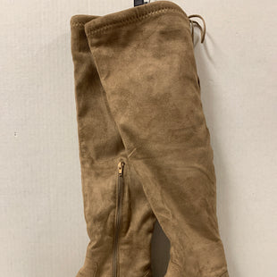 Primary Photo - BRAND: CHARLOTTE RUSSE STYLE: BOOTS KNEE COLOR: TAN SIZE: 8 OTHER INFO: AS IS SKU: 150-150135-2640
