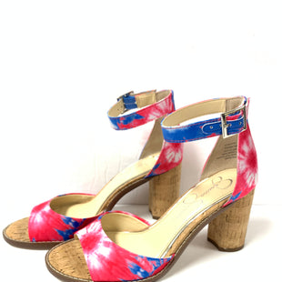 Primary Photo - BRAND: JESSICA SIMPSON STYLE: SHOES LOW HEEL COLOR: TIE DYE SIZE: 7.5 OTHER INFO: PINK BLUE SKU: 150-150112-256533 1/2