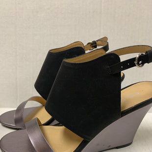 Primary Photo - BRAND: FRANCO SARTO STYLE: SHOES HIGH HEEL COLOR: BLACK SIZE: 7.5 OTHER INFO: AS IS WEDGE SKU: 150-150154-493BLACK MARK ON SIDE OF HEEL(SEE PHOTO)4 INCHES