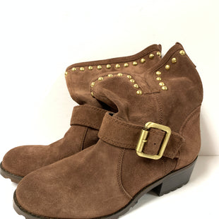Primary Photo - BRAND: INC STYLE: BOOTS ANKLE COLOR: BROWN SIZE: 7 SKU: 150-15047-145107SUEDE