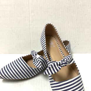 Primary Photo - BRAND:    CLOTHES MENTOR STYLE: SHOES FLATS COLOR: STRIPED SIZE: 11 OTHER INFO: TC - SKU: 150-15047-149388