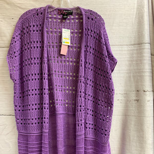 Primary Photo - BRAND: PECK AND PECK STYLE: SHAWL COLOR: LILAC SIZE: L OTHER INFO: NEW SKU: 150-150127-4533