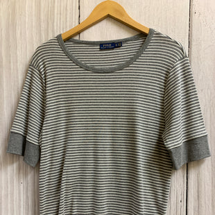 Primary Photo - BRAND: RALPH LAUREN BLUE LABEL STYLE: TOP SHORT SLEEVE BASIC COLOR: GREY SIZE: XL SKU: 150-15047-137790