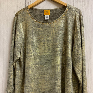 Primary Photo - BRAND: MICHAEL BY MICHAEL KORS STYLE: PONCHO COLOR: BLACK SIZE: S OTHER INFO: FLUFFY/GOLD SKU: 150-150154-1923
