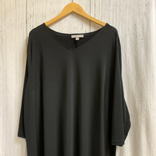 Primary Photo - BRAND: WOMAN WITHIN STYLE: TOP LONG SLEEVE BASIC COLOR: BLACK SIZE: 2X SKU: 150-150135-536