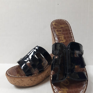 Primary Photo - BRAND: SAM EDELMAN STYLE: SANDALS LOW COLOR: BLACK SIZE: 7 SKU: 150-150112-25856AS IS
