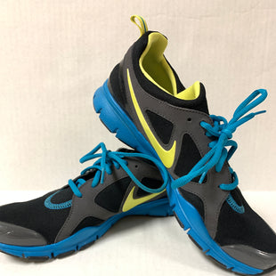 Primary Photo - BRAND: NIKE STYLE: SHOES ATHLETIC COLOR: BLACK SIZE: 10 OTHER INFO: TEAL/GREY SKU: 150-150131-11591