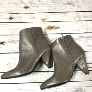 Primary Photo - BRAND:    CLOTHES MENTOR STYLE: BOOTS ANKLE COLOR: METALLIC SIZE: 8 OTHER INFO: SEVEN DIALS - SKU: 150-15098-35914