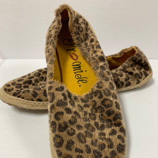 Primary Photo - BRAND:    CLOTHES MENTOR STYLE: SHOES FLATS COLOR: LEOPARD PRINT SIZE: 8.5 OTHER INFO: PROMISE - SKU: 150-150135-1241FUZZY