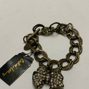 Primary Photo - BRAND: COOKIE LEE STYLE: BRACELET COLOR: BRONZE OTHER INFO: NEW! BOW CHARM SKU: 150-150131-14548