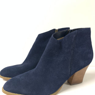 Primary Photo - BRAND: SUSINA STYLE: BOOTS ANKLE COLOR: BLUE SIZE: 11 SKU: 150-15047-144974SUEDE