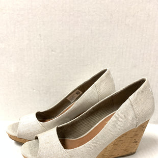 Primary Photo - BRAND: TOMS STYLE: SANDALS HIGH COLOR: CREAM SIZE: 8 SKU: 150-150154-52043 1/2 INCHES