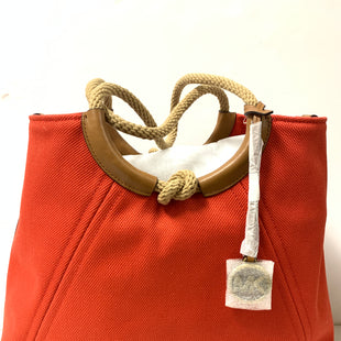 Primary Photo - BRAND: MICHAEL KORS STYLE: HANDBAG DESIGNER COLOR: ORANGE SIZE: LARGE OTHER INFO: CANVAS/ROPE HANDLES SKU: 150-15098-3565418X12