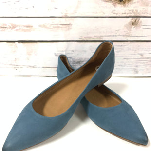 Primary Photo - BRAND: FRYE STYLE: SHOES DESIGNER COLOR: SLATE BLUE SIZE: 10 SKU: 150-150131-13690SUEDE