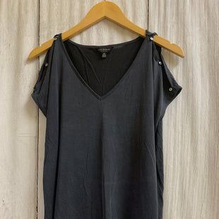 Primary Photo - BRAND: LUCKY BRAND STYLE: TOP SHORT SLEEVE COLOR: CHARCOAL SIZE: S SKU: 150-15098-39317
