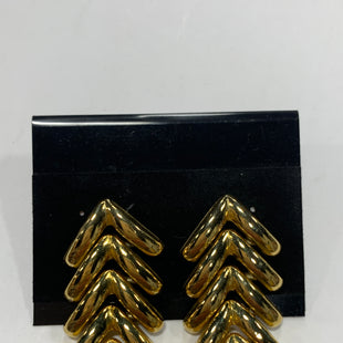 Primary Photo - BRAND:    CLOTHES MENTOR STYLE: EARRINGS COLOR: GOLD SIZE: 2 OTHER INFO: LONG TRIBAL LOOK SKU: 150-150119-10042