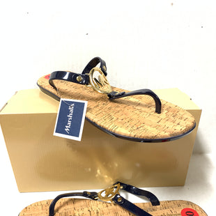 Primary Photo - BRAND: MICHAEL BY MICHAEL KORS STYLE: SANDALS FLAT COLOR: NAVY SIZE: 10 SKU: 150-150135-3337