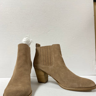Primary Photo - BRAND: DOLCE VITA STYLE: BOOTS ANKLE COLOR: BEIGE SIZE: 11 SKU: 150-15047-144972