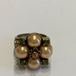 Primary Photo - BRAND:  CMA STYLE: JEWELRY DESIGNER COLOR: BRONZE SIZE: 7 OTHER INFO: HEIDI DAUS - PEARLS RING SKU: 150-150112-26220