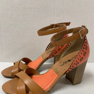 Primary Photo - BRAND:    CLOTHES MENTOR STYLE: SANDALS LOW COLOR: TAN SIZE: 6 OTHER INFO: RAMARIM - ORANGE SKU: 150-15047-1500493 INCHES