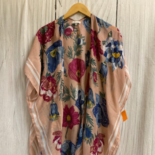 Primary Photo - BRAND:    CLOTHES MENTOR STYLE: SHAWL COLOR: DUSTY PINK SIZE: ONESIZE OTHER INFO: WOVEN HEART - FLOWERS SKU: 150-15047-149582