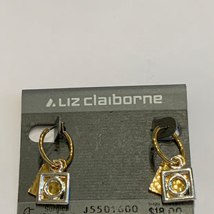 Primary Photo - BRAND: LIZ CLAIBORNE O STYLE: EARRINGS COLOR: GOLD OTHER INFO: 2 PLATED SKU: 150-150112-26215