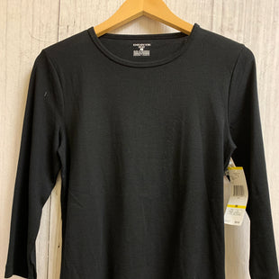Primary Photo - BRAND: JONES NEW YORK STYLE: TOP LONG SLEEVE BASIC COLOR: BLACK SIZE: M SKU: 150-150138-1187