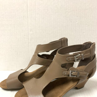 Primary Photo - BRAND: CROFT AND BARROW STYLE: SANDALS LOW COLOR: TAUPE SIZE: 8.5 SKU: 150-15047-1502802 1.2