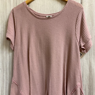 Primary Photo - BRAND: SONOMA STYLE: TOP SHORT SLEEVE COLOR: DUSTY PINK SIZE: XL SKU: 150-15098-33581