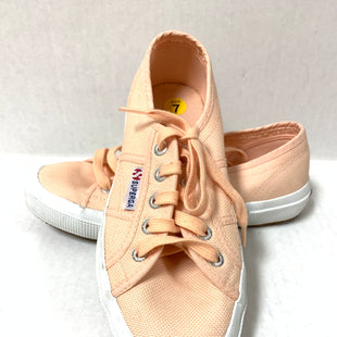 Primary Photo - BRAND: SUPERGA STYLE: SHOES ATHLETIC COLOR: MELON SIZE: 7 SKU: 150-150131-11702