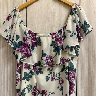 Primary Photo - BRAND: INC STYLE: TOP SHORT SLEEVE COLOR: FLORAL SIZE: XL SKU: 150-150112-25945LINED