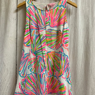 Primary Photo - BRAND: LILLY PULITZER STYLE: DRESS SHORT SLEEVELESS COLOR: WHITE PINK SIZE: S OTHER INFO: BLUE GREEN ORANGE SKU: 150-15098-39324SKATER STYLE