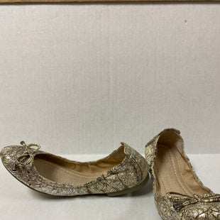 Primary Photo - BRAND: FRYE STYLE: SHOES DESIGNER COLOR: BEIGE SIZE: 8.5 OTHER INFO: CRACKLED SILVER BROWN SKU: 150-150119-8974R