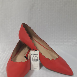 Primary Photo - BRAND: EXPRESS STYLE: SHOES FLATS COLOR: RED SIZE: 7 SKU: 150-150119-8242