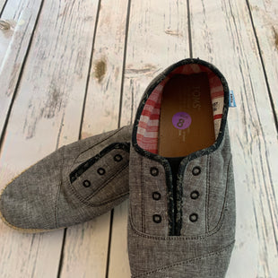Primary Photo - BRAND: TOMS STYLE: SHOES FLATS COLOR: DENIM SIZE: 8 OTHER INFO: AS IS SKU: 150-150131-9681