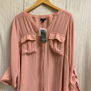Primary Photo - BRAND: ANA STYLE: TOP LONG SLEEVE COLOR: PINK SIZE: 1X OTHER INFO: NEW! SKU: 150-150112-20776