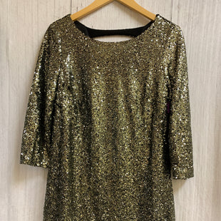 Primary Photo - BRAND: WORTHINGTON STYLE: DRESS SHORT LONG SLEEVE COLOR: SPARKLES SIZE: M OTHER INFO: SEQUINS SKU: 150-15098-35263