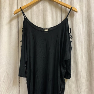 Primary Photo - BRAND: VENUS STYLE: TOP SHORT SLEEVE COLOR: BLACK SIZE: S SKU: 150-15098-39320