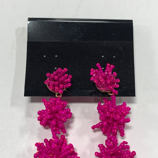 Primary Photo - BRAND:    CLOTHES MENTOR STYLE: EARRINGS COLOR: NEON OTHER INFO: SUGARFIX - MAGENTA/BEADED SKU: 150-15098-38580