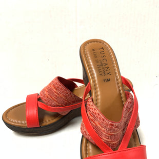 Primary Photo - BRAND: EASY STREET STYLE: SANDALS LOW COLOR: RED SIZE: 11 SKU: 150-150131-9091
