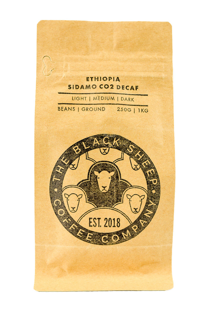 Black Sheep Coffee - Ethiopia Sidamo CO2 Decaf