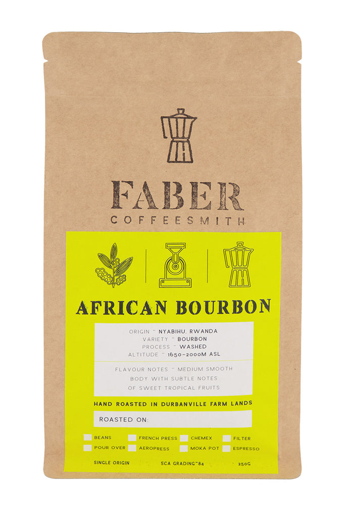 Faber Coffee - African Bourbon