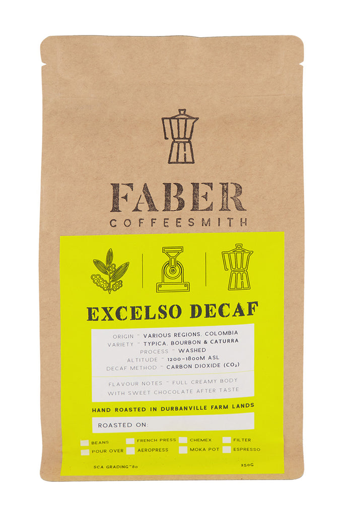 Faber Coffee - Excelso Decaf