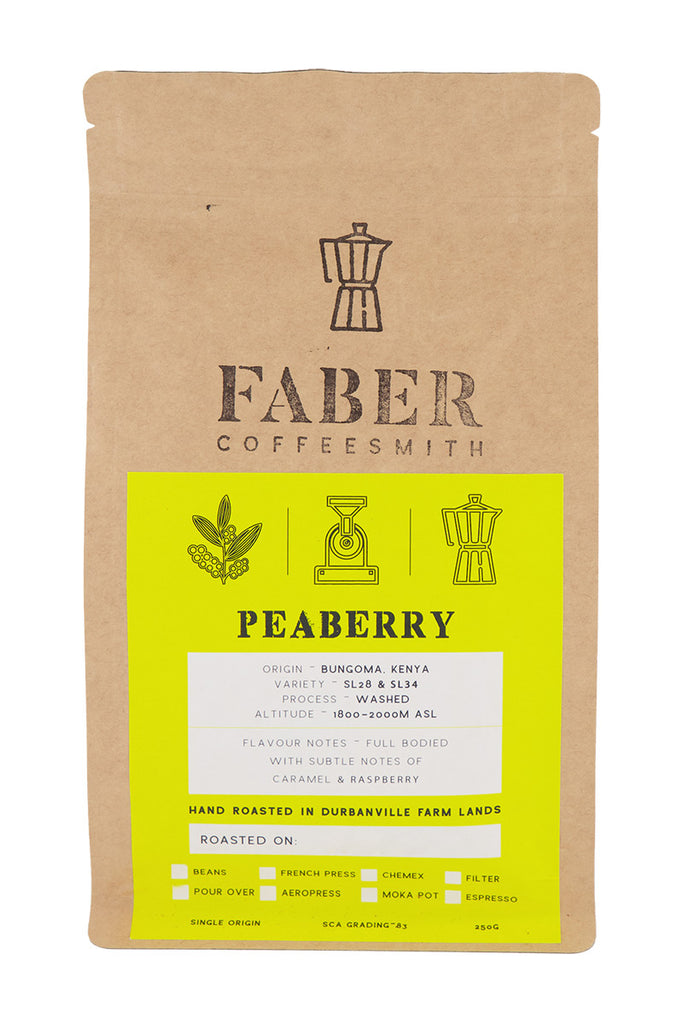 Faber Coffee - Peaberry