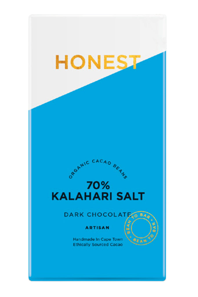 Honest Chocolate - 70% Dark with Kalahari Salt