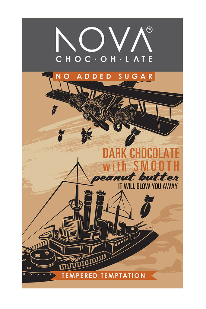 Nova Chocolate - Dark with Smooth Peanut Butter